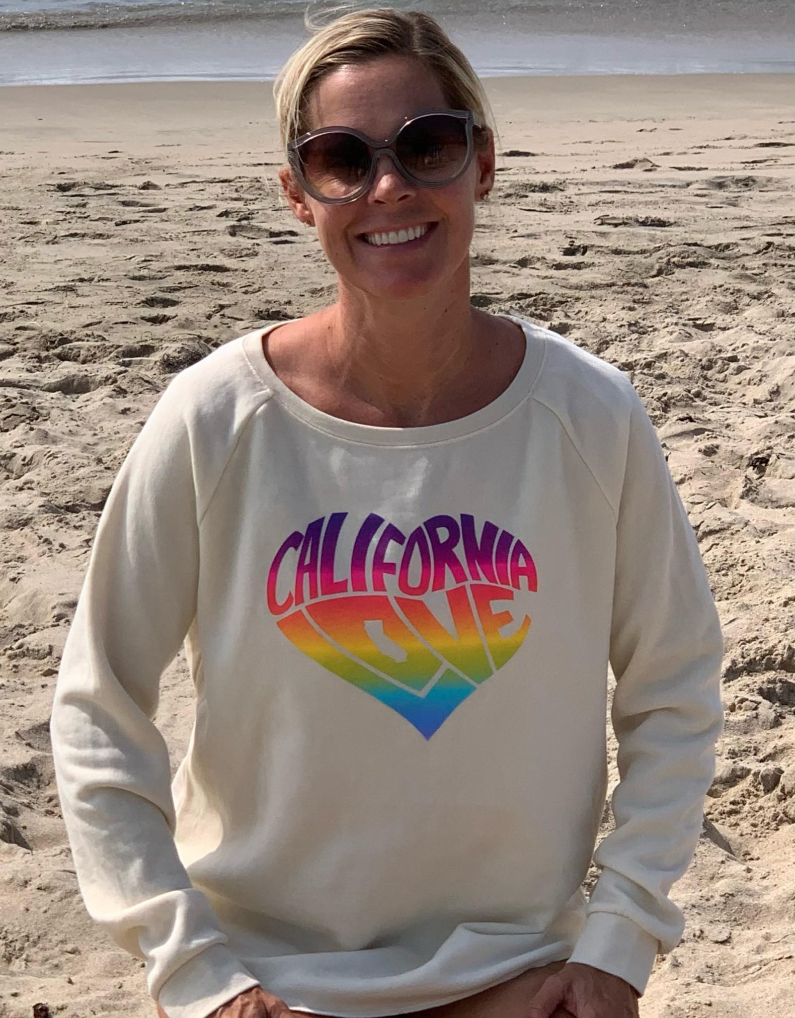 I Am I Am California Love Sweatshirt Ivory
