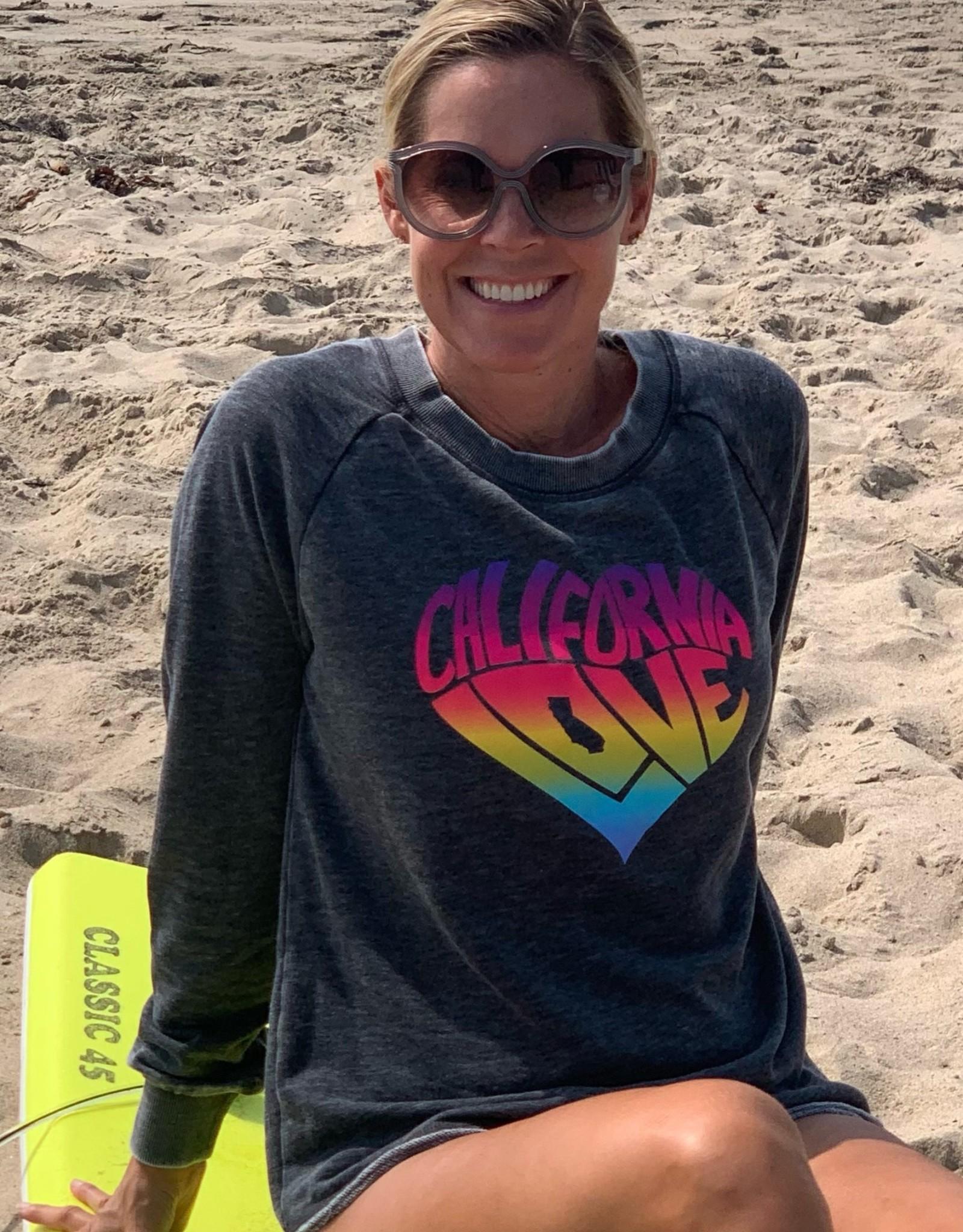 I Am I Am California Love Sweatshirt Washed Black
