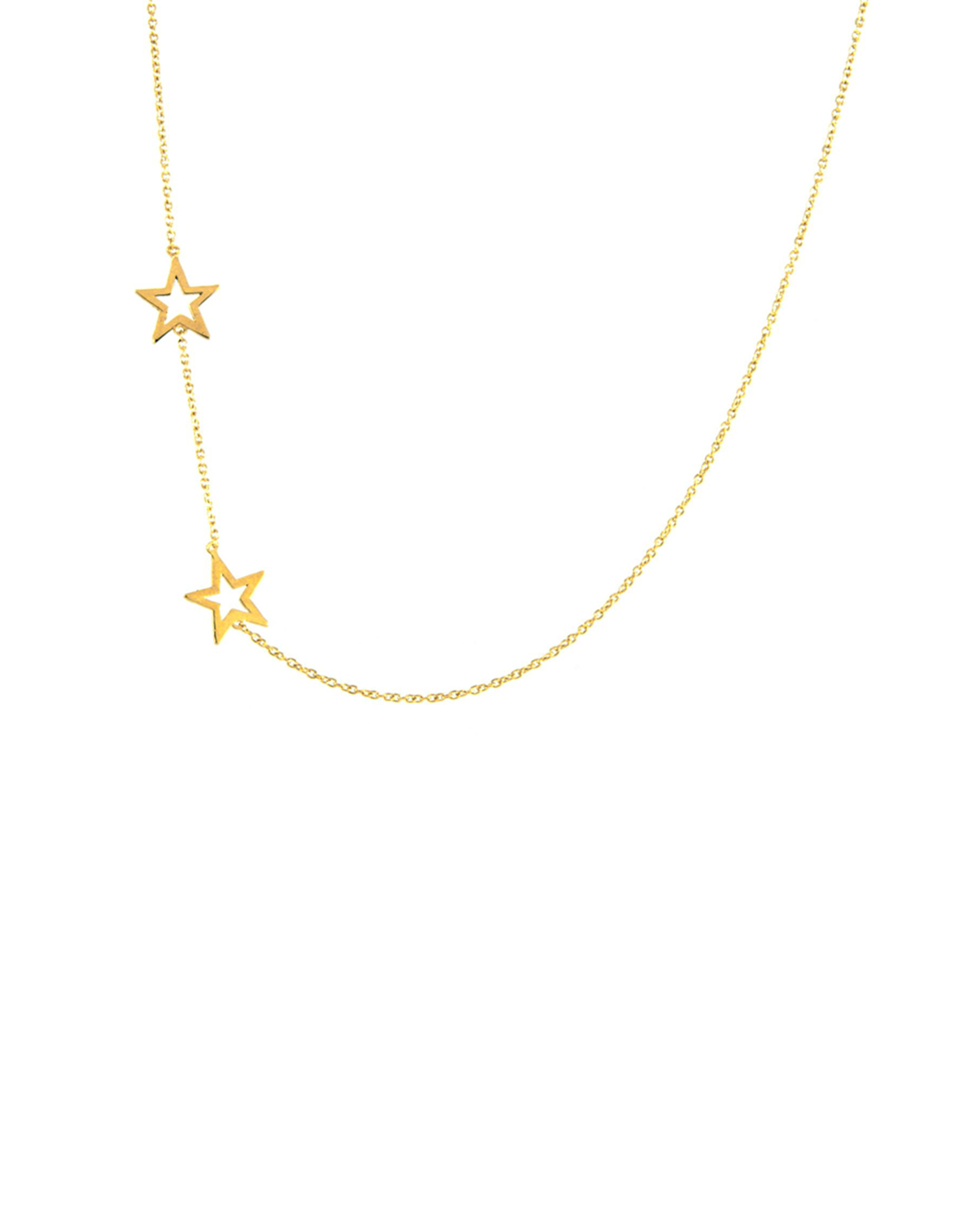 Jurate Brown Jurate Star Necklace Gold