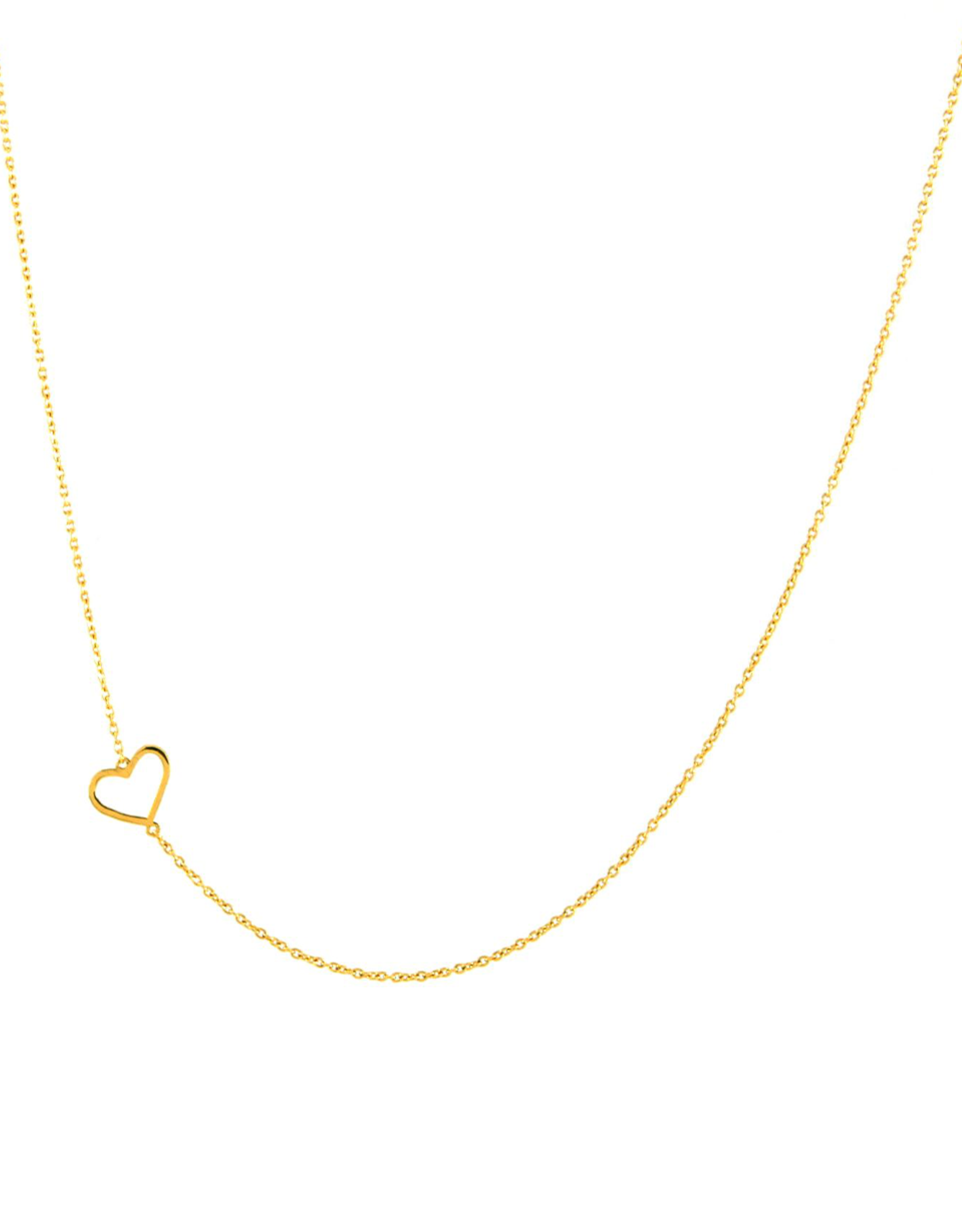 Jurate Brown Jurate Heart Necklace
