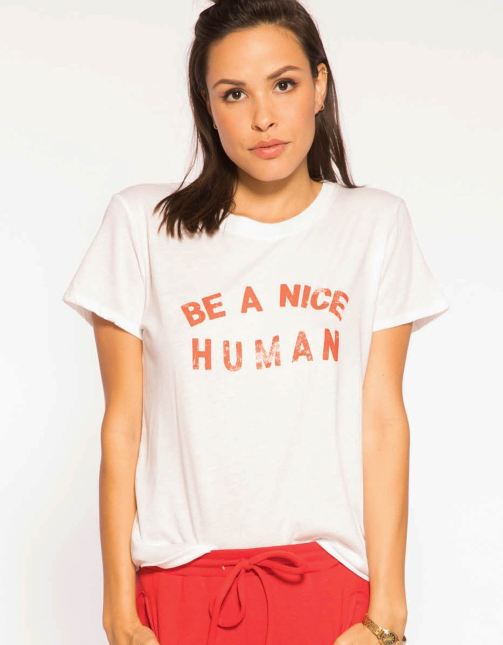 "Sub_Urban Riot Sub_Urban ""Be a Nice Human"" Tee White"