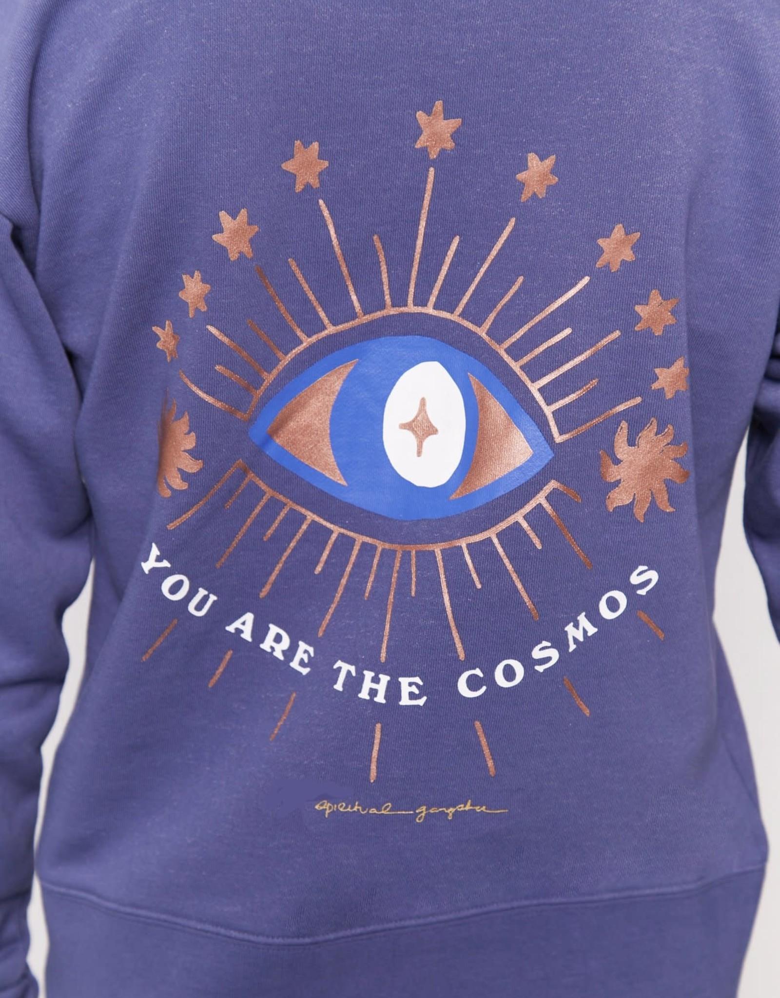 Spiritual Gangster Spiritual Gangster Cosmos Talullah Zip Hoodie Navy