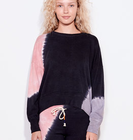 Sundry Sundry Tie Dye Oversized Sweatshirt Terra/Char