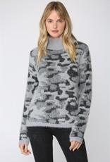 Fate Fate Fuzzy Leopard Sweater