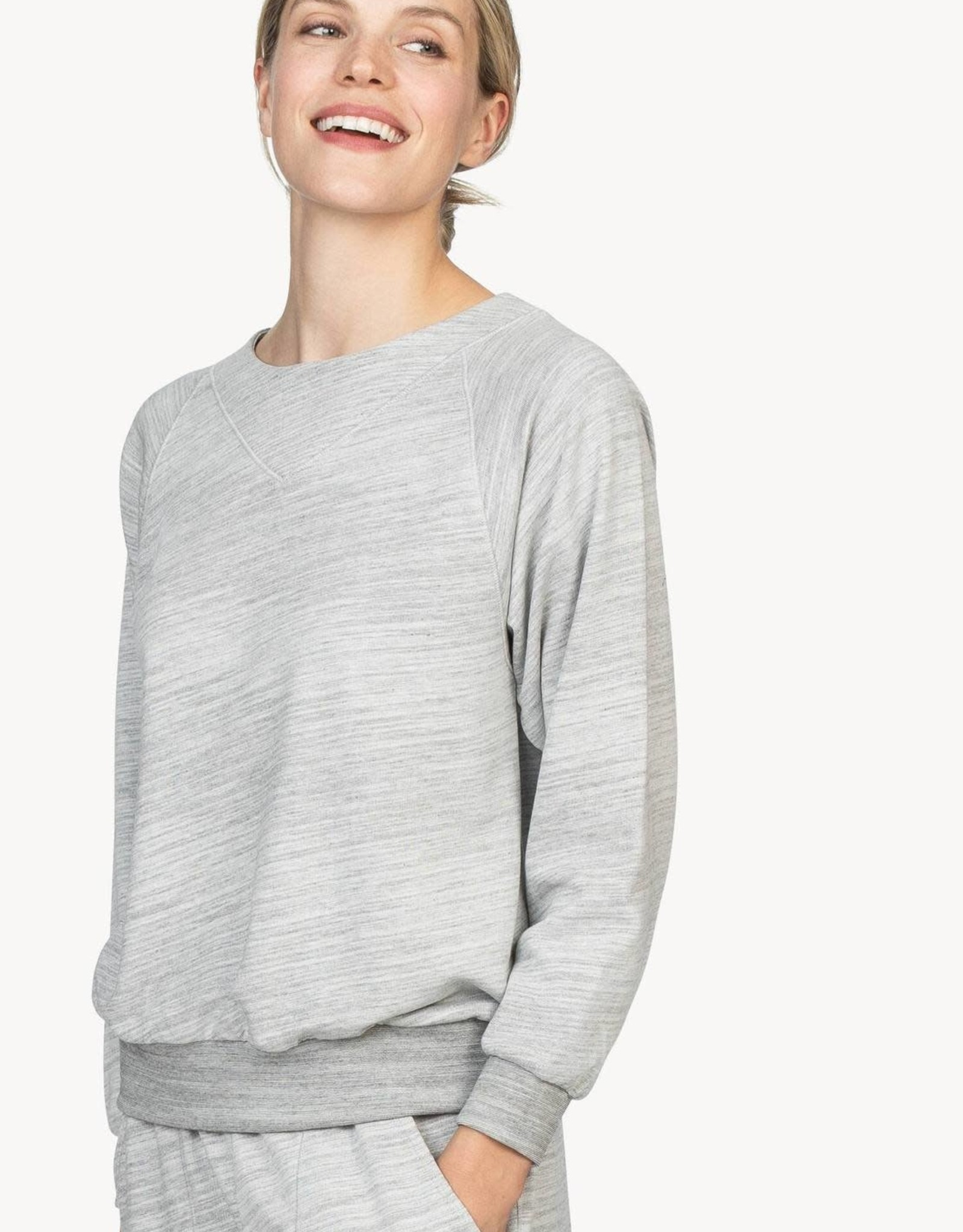 Lilla P Lilla P Raglan Sweatshirt Grey