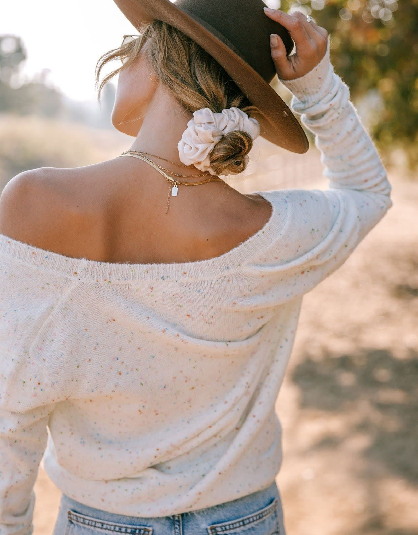 Lovestitch Lovestitch Confetti Sweater