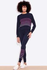 Sundry Sundry Stripes Oversized Sweatshirt