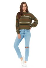 Saltwater Luxe Saltwater Luxe Vale Sweater Moss