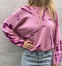 Crush Crush Tarifa Tie Dye Cropped Sweater