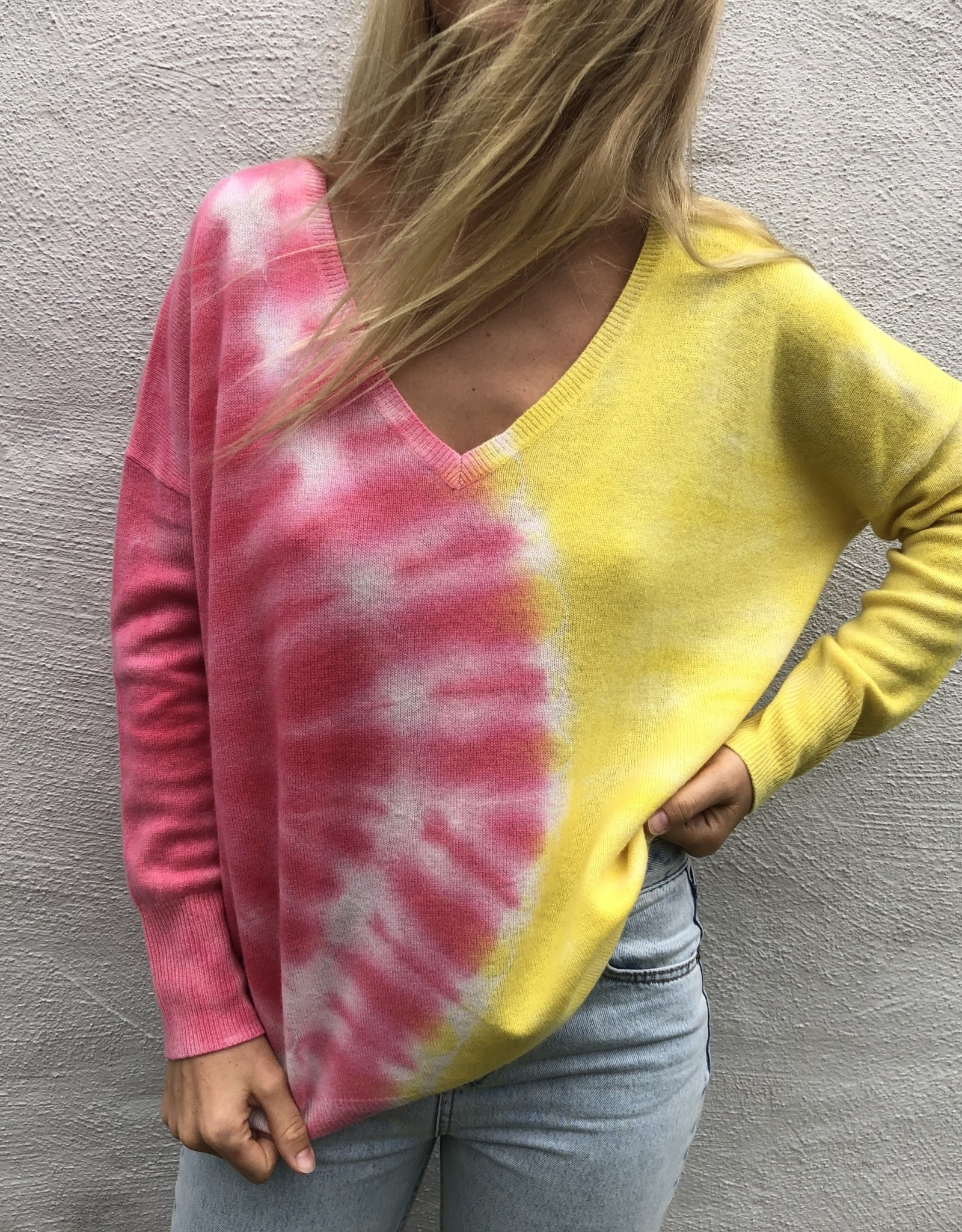 Crush Crush Malibu Oversized Tie Dye Sweater