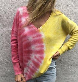 Crush Crush Malibu Oversized Tie Dye Sweater