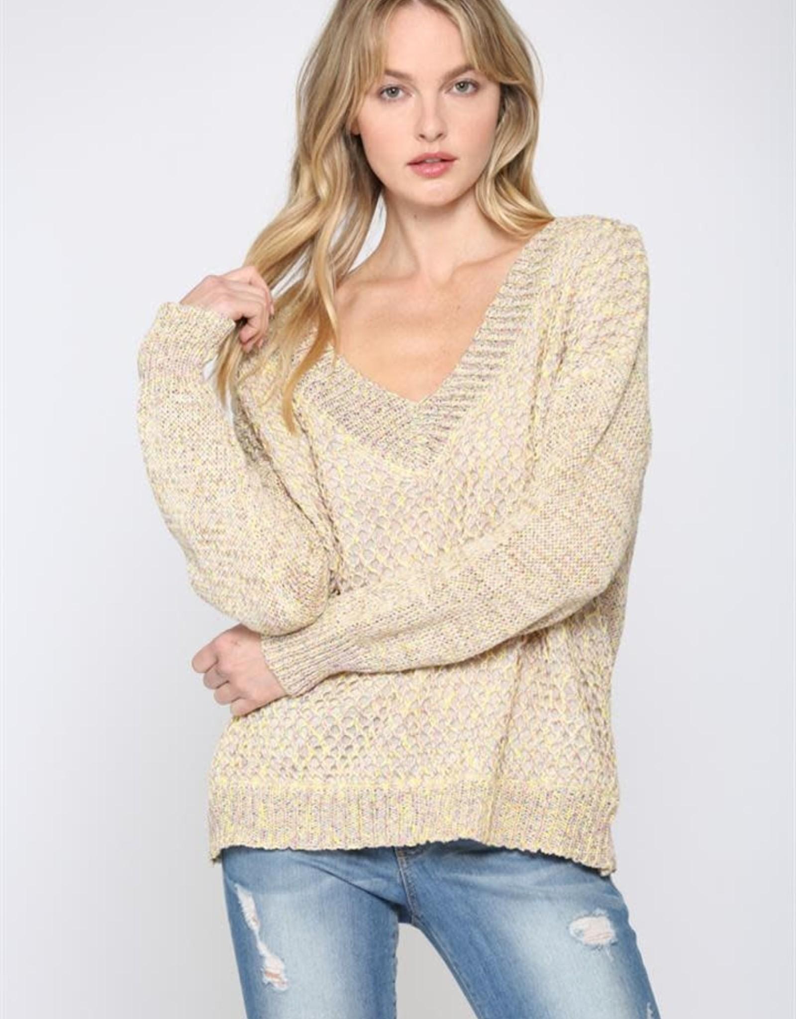 Fate Fate Multi V-Neck Sweater