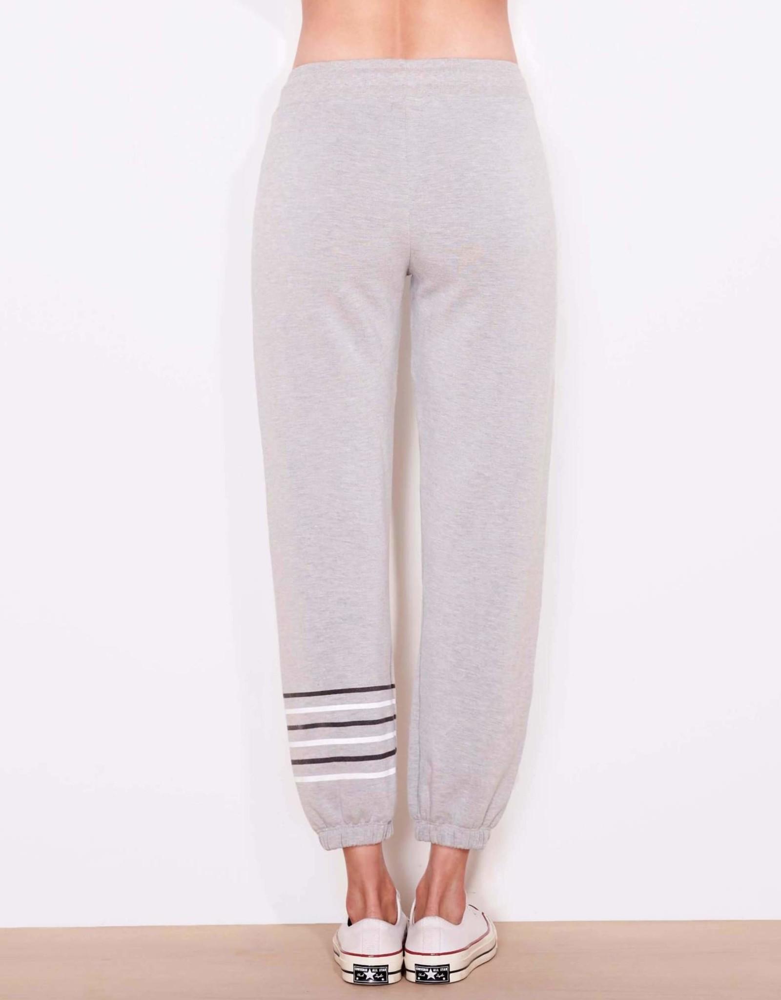 Sundry Sundry Striped Sweatpants Heather Grey