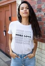"Sub_Urban Riot Sub_Urban Riot Tee ""More Love"" White"
