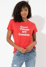 "Sub_Urban Riot Sub_Urban Riot Tee ""Good Things are Coming"" Cherry"
