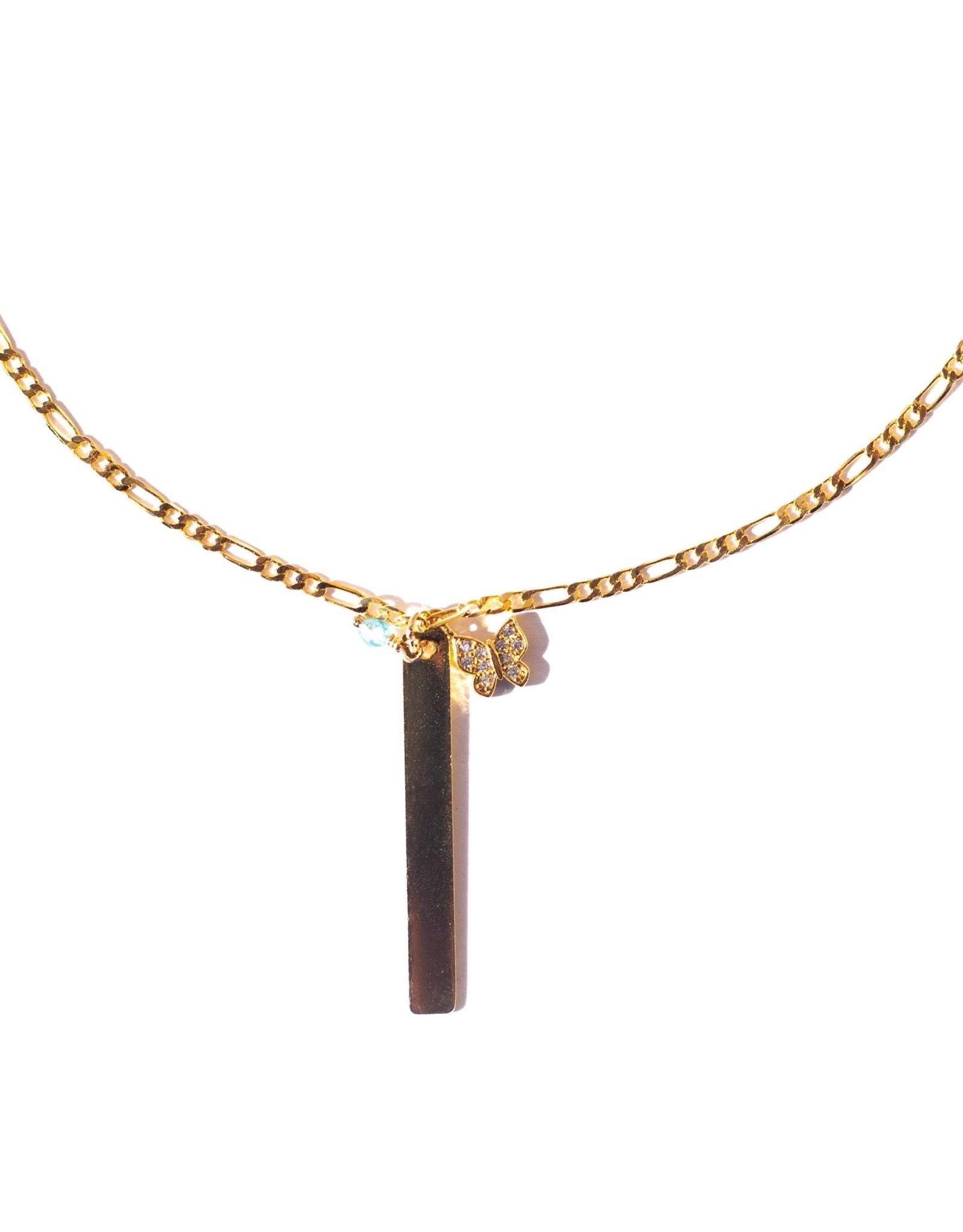 UNCVRD UNCVRD Metamorphosis Bar Necklace