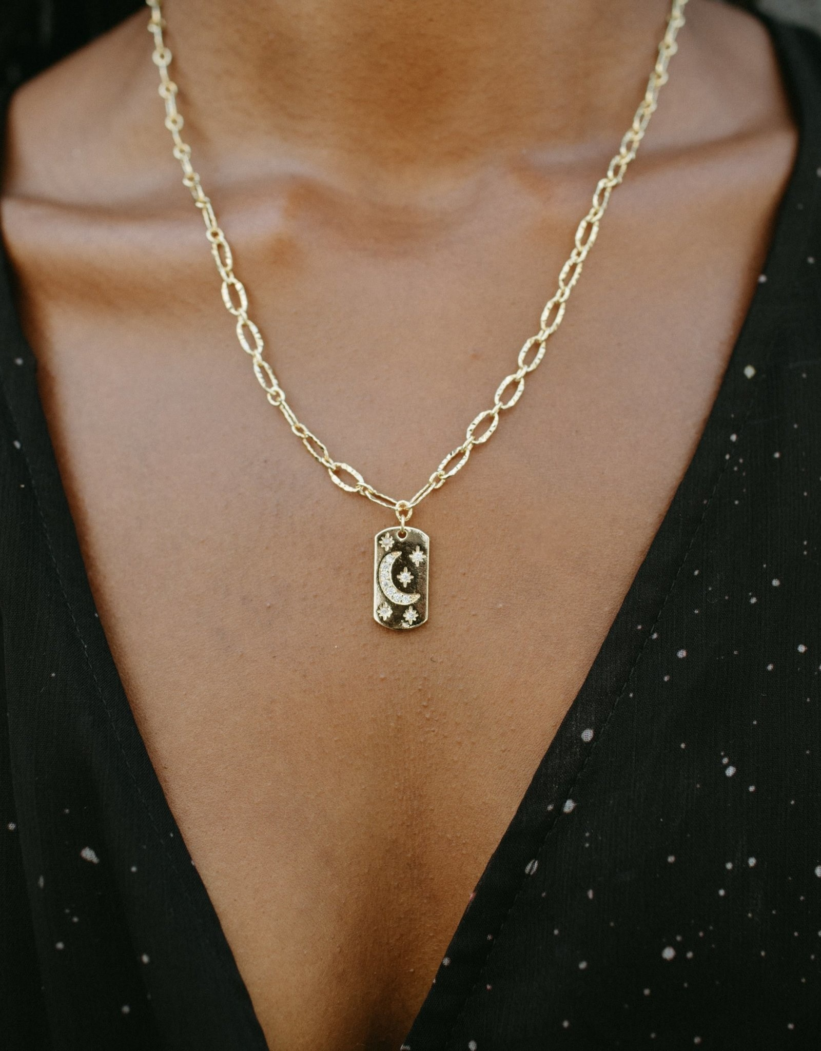 UNCVRD UNCVRD Constellation Mini Tag Necklace