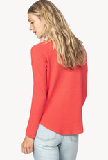Lilla P Lilla P Long Sleeve Boatneck Thermal Poppy