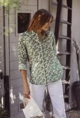 Trovata Trovata Grace Classic Shirt Green Floral