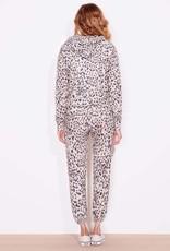 Sundry Sundry Leopard Zip Hoodie