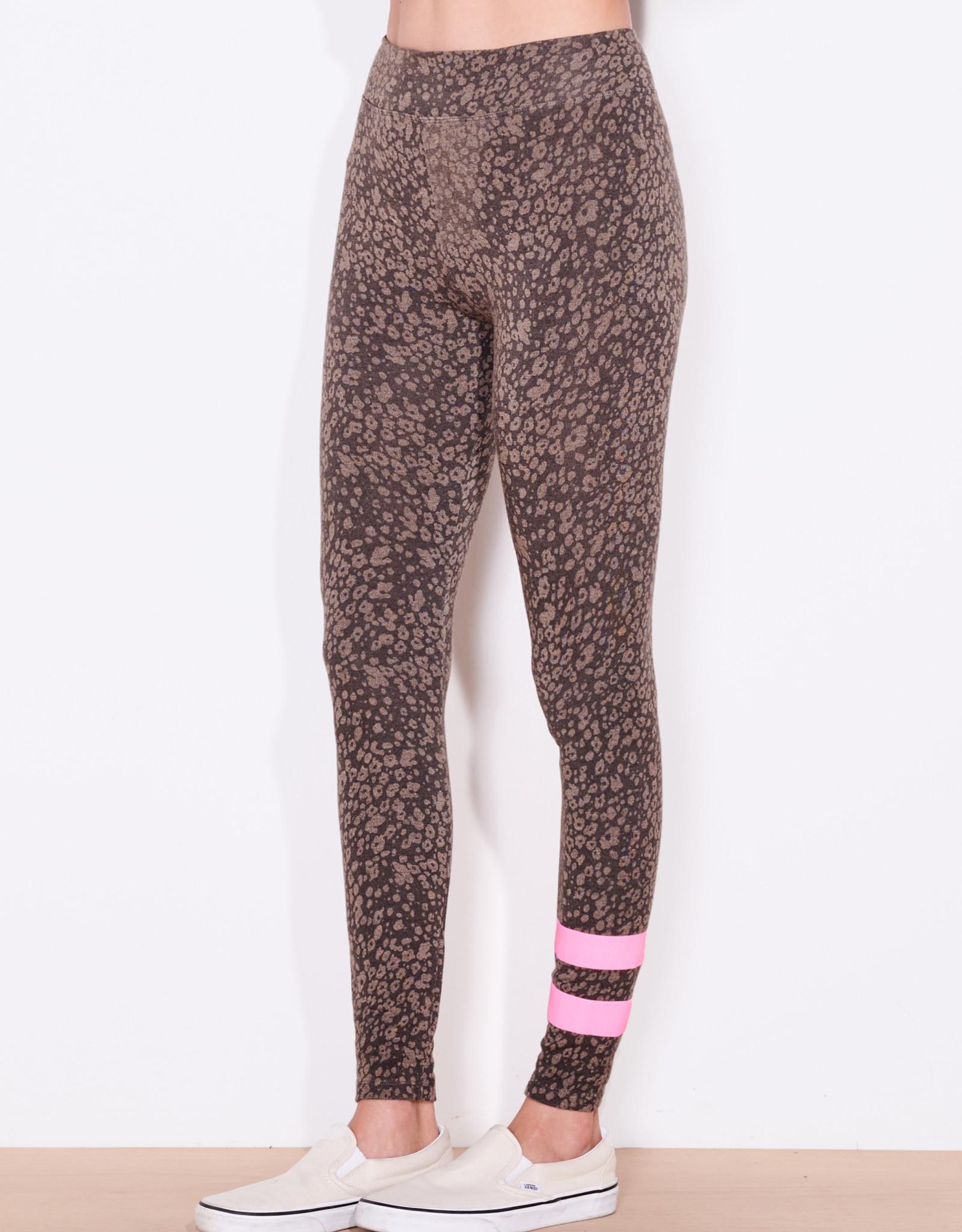 Sundry Sundry Stripe Floral Yoga Pant