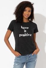 "Sub_Urban Riot Sub_Urban Riot ""Keep it Positive"" Tee"