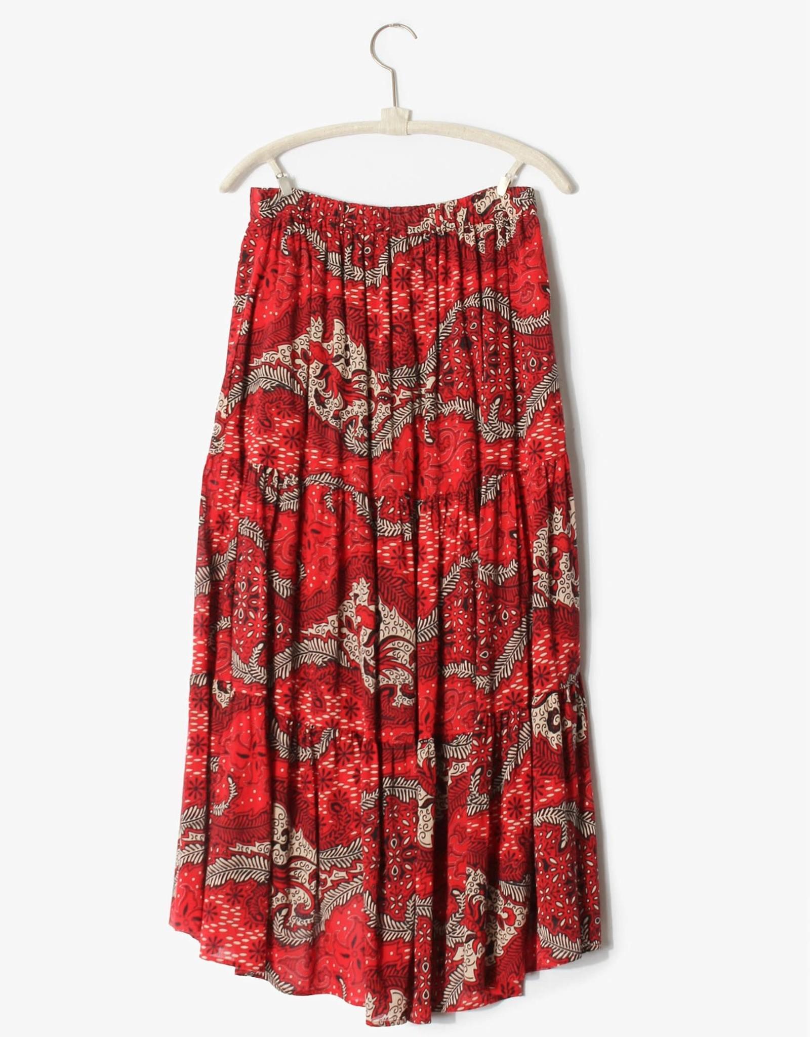 Xirena Xirena Iris Skirt Fire