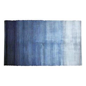 Tapis au dégradé de tons de bleu