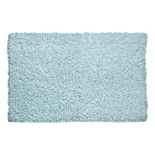 Tapis de bain bleu pâle Loop par Harman