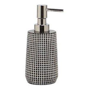 Pompe à savon noire Brickwork par Harman