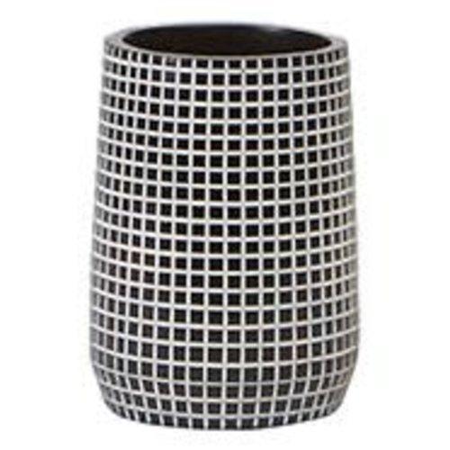 Gobelet de salle de bain noir Brickwork par Harman