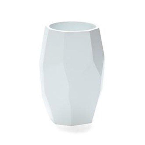 Gobelet de salle de bain blanc Nest par Harman