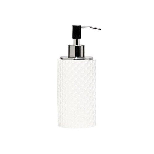 Pompe à savon blanche Milan par Harman