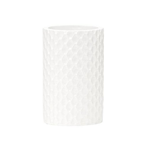 Gobelet de salle de bain blanc Milan par Harman
