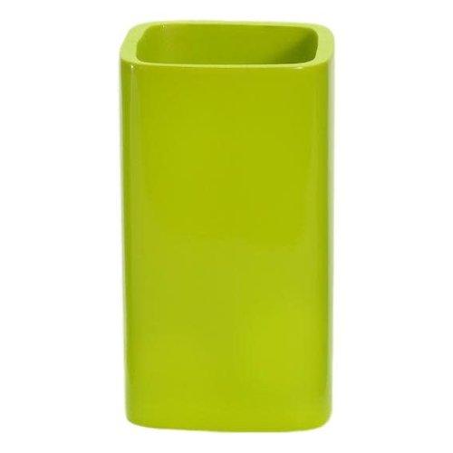 Gobelet de salle de bain vert Radiance