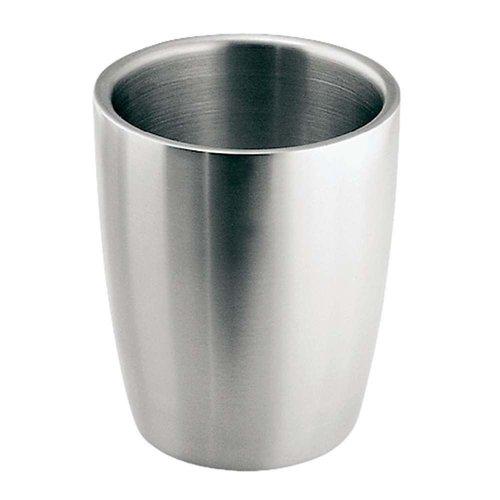 Gobelet de salle de bain en acier inoxydable Forma par Interdesign