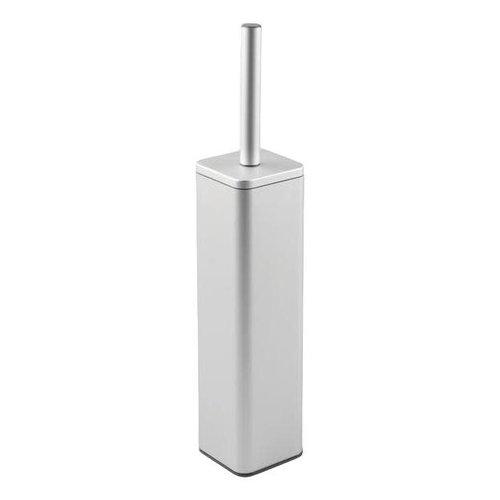 Brosse de toilette carré en aluminium Metro Ultra