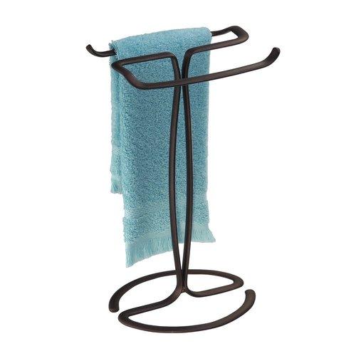 Porte-serviettes à arceaux bronze Axis