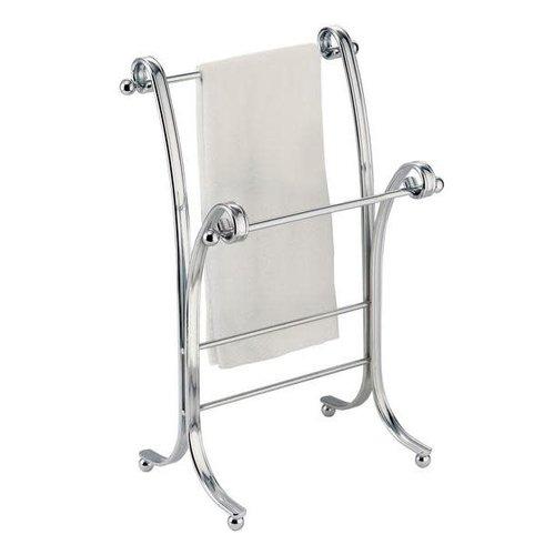 Porte-serviettes chrome York Lyra