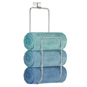 Porte-serviettes chrome pour porte Classico