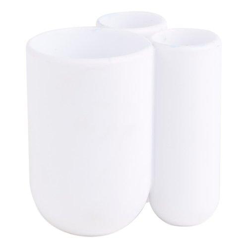 Porte-brosses à dents blanc Touch par Umbra