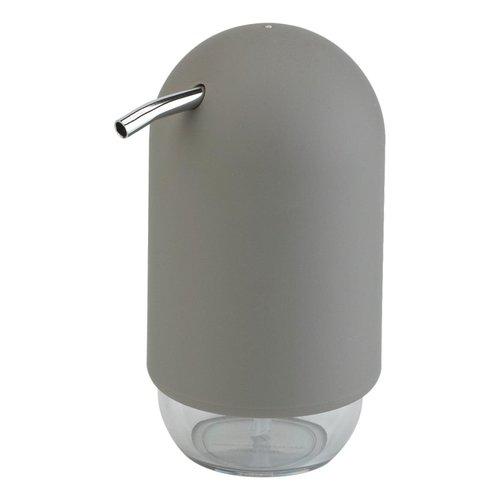 Pompe à savon grise Touch par Umbra