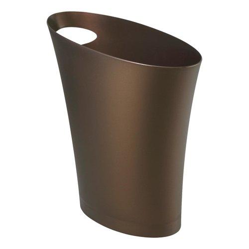Poubelle brune Skinny par Umbra