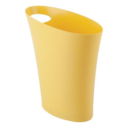 Poubelle jaune Skinny par Umbra