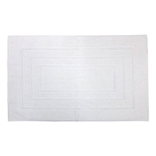 Tapis de bain blanc antidérapant Houston