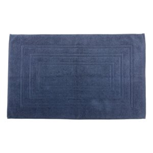 Tapis de bain bleu antidérapant Houston