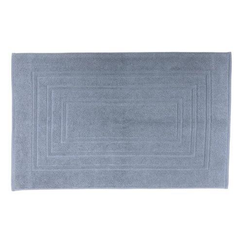 Tapis de bain bleu gris antidérapant Houston