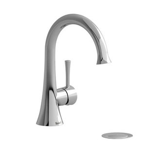 Robinet de lavabo monotrou chrome avec drain Edge par Riobel