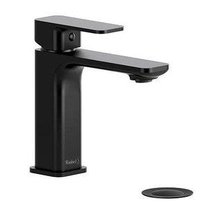 Robinet de lavabo monotrou noir Equinox par Riobel