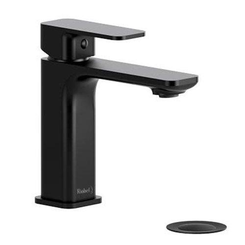 Riobel Robinet de lavabo monotrou noir Equinox par Riobel